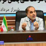 بازدید مشاور وزیر و مدیر کل بازرسی وزارت نفت از منطقه فارس