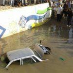 مدیرعامل شرکت آب و فاضلاب اهواز :گزارشی جدید از شدت آبگرفتگی در خوزستان / ۱۸میلیون مترمکعب آب باران روانه خیابانها شد