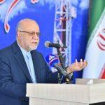 وزیر نفت در آیین رونمایی از دکل ۷۲ فتح: وظیفه داریم برای کارخانههای ایرانی کار ایجاد کنیم