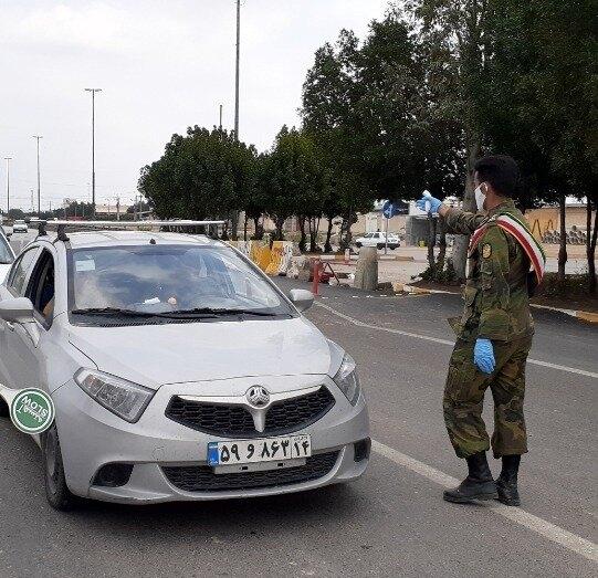 رئیس پلیسراه خوزستان:محدودیت در ورودیهای خوزستان برای خودروهای غیربومی