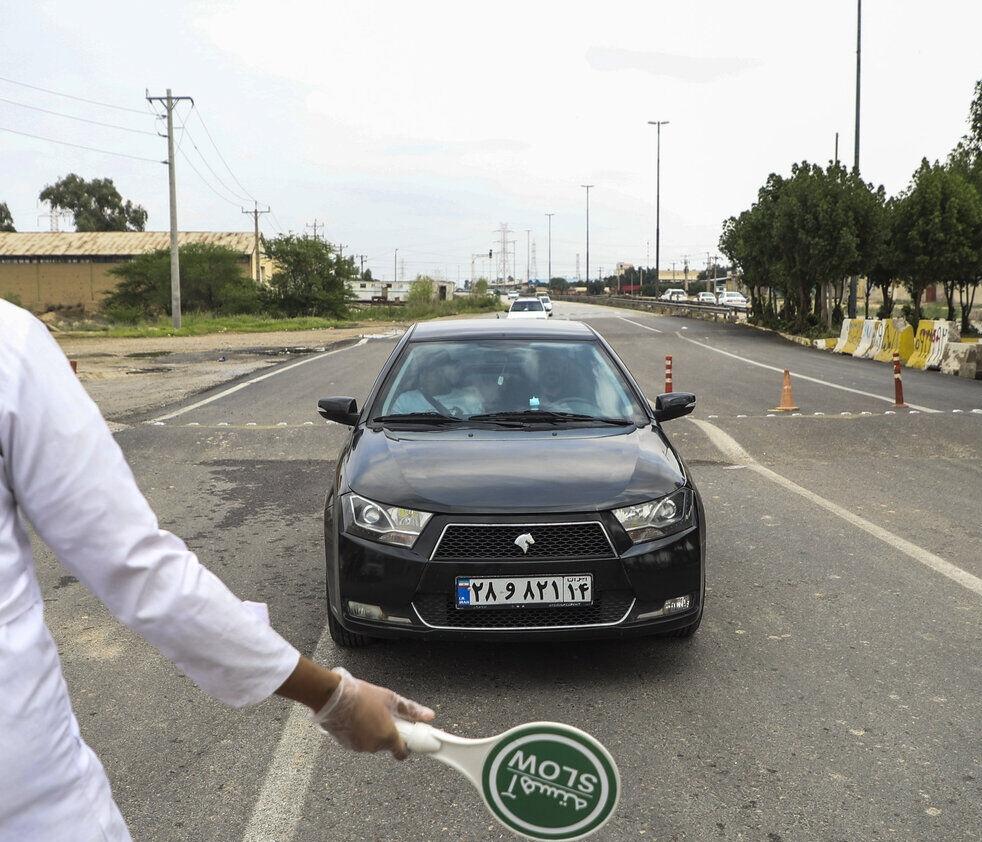 رئیس پلیس راه استان خبر داد:تردد بین شهری در خوزستان ممنوع است